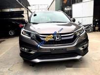 Cần bán gấp Honda CR V 2.4AT sản xuất 2015, màu nâu như mới