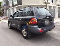 Bán ô tô Hyundai Santa Fe Gold đời 2008, màu đen số tự động