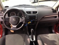 Cần bán gấp Suzuki Swift 1.4AT đời 2013, màu đỏ, nhập khẩu