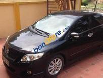 Cần bán gấp Toyota Corolla altis AT đời 2009, màu đen chính chủ