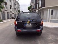 Cần bán Hyundai Santa Fe Gold đời 2008, màu đen, nhập khẩu số tự động