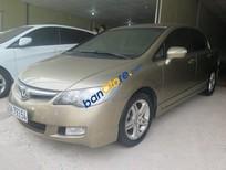 Bán Honda Civic AT đời 2008, màu vàng