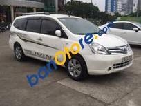 Chính chủ bán Nissan Grand livina MT 2012, màu trắng
