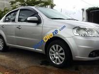 Cần bán xe Daewoo Gentra đời 2008, màu bạc số sàn, giá 222tr