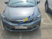 Bán lại xe Honda Civic 1.8AT 2012, màu xanh, đã đi 45.000 km