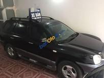 Cần bán xe Hyundai Santa Fe Gold đời 2003, màu đen số tự động, giá tốt