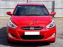 Bán Hyundai Accent 1.4AT năm sản xuất 2015, màu đỏ, nhập khẩu