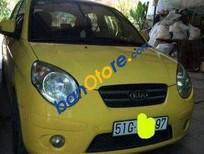 Xe Kia Morning AT năm sản xuất 2009, màu vàng số tự động
