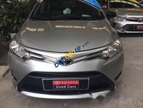 Bán xe cũ Toyota Vios J năm 2014, màu bạc số sàn