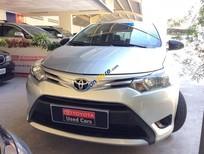 Bán xe Toyota Vios J màu bạc, 2014