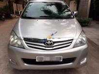 Bán gấp chiếc xe Toyota Innova 2.0G nguyên bản đời 2009, màu bạc giá 398 triệu
