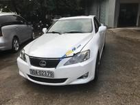 Bán Lexus IS 300 đời 2008, màu trắng, đang sử dụng tốt, vận hành an toàn