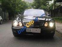 Cần bán gấp Mercedes E240 đời 2003, màu đen, giá tốt