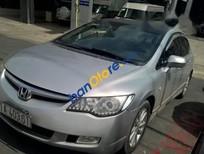 Cần bán lại xe Honda Civic AT đời 2008, màu bạc, xe cũ còn nguyên bản, máy móc êm ái