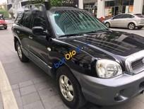 Bán ô tô Hyundai Santa Fe Gold sản xuất năm 2005, màu đen