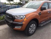 Bán xe Ford Ranger Wildtrak 3.2 màu cam, nhập khẩu, giá tốt