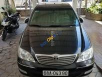 Cần bán xe Toyota Camry đăng ký lần đầu 2003, màu đen chính chủ, 450triệu