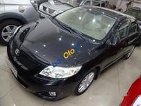Bá Toyota Corolla altis AT đời 2009, màu đen số tự động