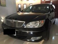 Cần bán xe Toyota Camry 2.4G 2004, màu đen