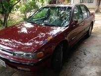 Bán Honda Accord EX năm 1990, màu đỏ, nhập khẩu nguyên chiếc