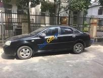 Bán xe cũ Daewoo Lacetti đời 2005, màu đen, 155tr