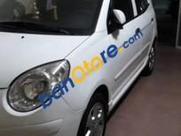 Cần bán xe Kia New Morning sx 2009, màu trắng, số tự động, đăng ký chính chủ lần đầu 01/2010