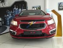 Bán xe Chevrolet Cruze LT 1.6MT sản xuất 2017, màu đỏ, 589 triệu