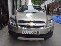 Cần bán gấp Chevrolet Captiva LT đời 2008, màu vàng số sàn
