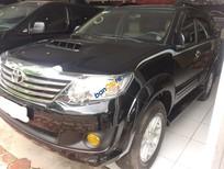 Bán xe Toyota Fortuner G đời 2014, màu đen