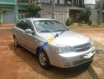 Cần bán lại xe Daewoo Lacetti sản xuất 2009, màu bạc chính chủ