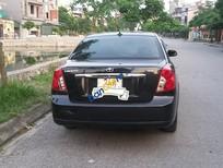 Cần bán Daewoo Lacetti đăng ký lần đầu 2011, màu đen còn mới, giá 268triệu