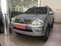 Bán Toyota Fortuner V đời 2011, màu bạc