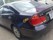 Bán Toyota Camry 2.4G đời 2006, màu đen chính chủ