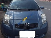 Bán xe cũ Toyota Yaris 1.3 AT sản xuất 2007, đăng kí 2008, nhập khẩu, màu xanh, đi 88.000km