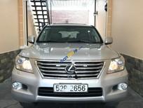 Bán Lexus LX 570 năm sản xuất 2008, màu bạc, nhập khẩu xe gia đình