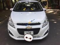 Cần bán Chevrolet Spark LS đời 2015, màu trắng xe gia đình, giá 268tr