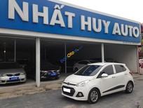 Bán xe Hyundai Grand i10 đời 2015, màu trắng, xe nhập, giá cạnh tranh, giao xe nhanh