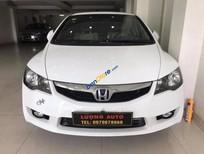 Cần bán xe Honda Civic 1.8AT đời 2012, màu trắng, biển Hải Phòng, xe tuyệt đẹp