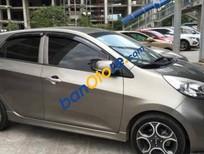 Cần bán lại xe Kia Morning 1.0 AT đời 2012, màu xám, giá tốt