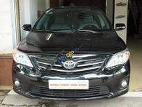 Cần bán xe Toyota Corolla altis 1.8G đời 2013, màu đen chính chủ, giá tốt
