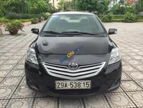 Cần bán Toyota Vios 1.5 E đời 2012, màu đen đăng ký chính chủ
