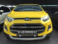 Cần bán Ford EcoSport Trend sản xuất năm 2014, màu vàng