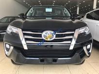 Bán Toyota Fortuner 2 cầu, sx 2017 màu đen, nội thất nâu, nhập khẩu - LH 0904927272