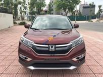 Cần bán Honda CR V 2.4L năm 2017, màu đỏ xe gia đình, 935tr