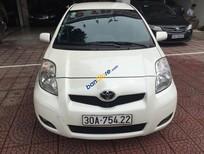 Cần bán xe Toyota Yaris 1.3AT Hatchback đời 2009, màu trắng, xe nhập