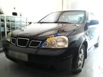 Bán Daewoo Lacetti EX năm 2004, màu đen, giá tốt