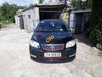 Bán ô tô Toyota Vios MT đời 2005, màu đen số sàn