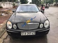 Cần bán gấp Mercedes E240 sản xuất 2004, màu đen, nhập khẩu