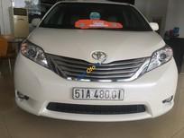 Cần bán xe Toyota Sienna 3.5 Liminted, ĐK T1/2013, màu trắng, nhập khẩu