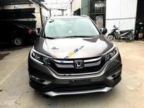 Bán Honda CR V 2.4AT đời 2015, màu nâu